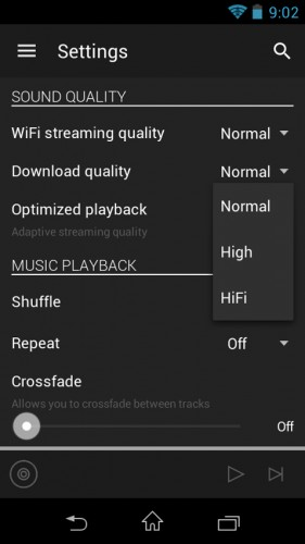 tidal-android-app-settings