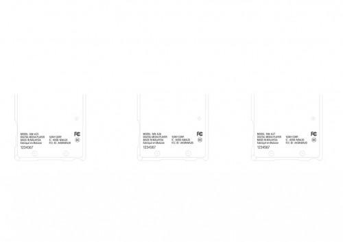Sony Walkman A20 FCC Label