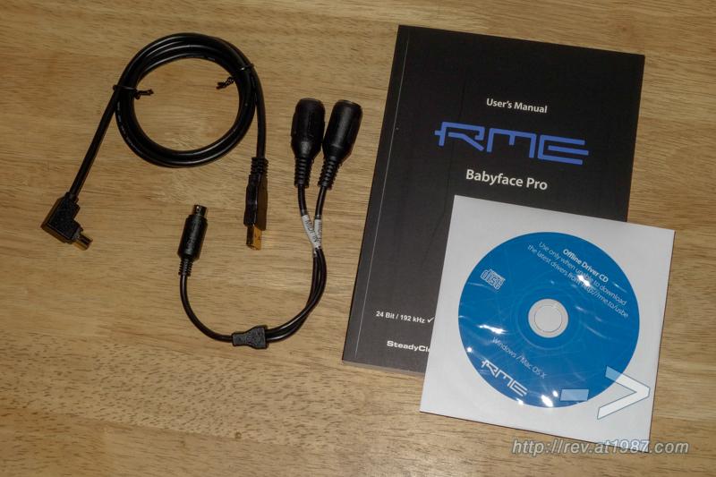 RME Babyface Pro – Accessories & Documents