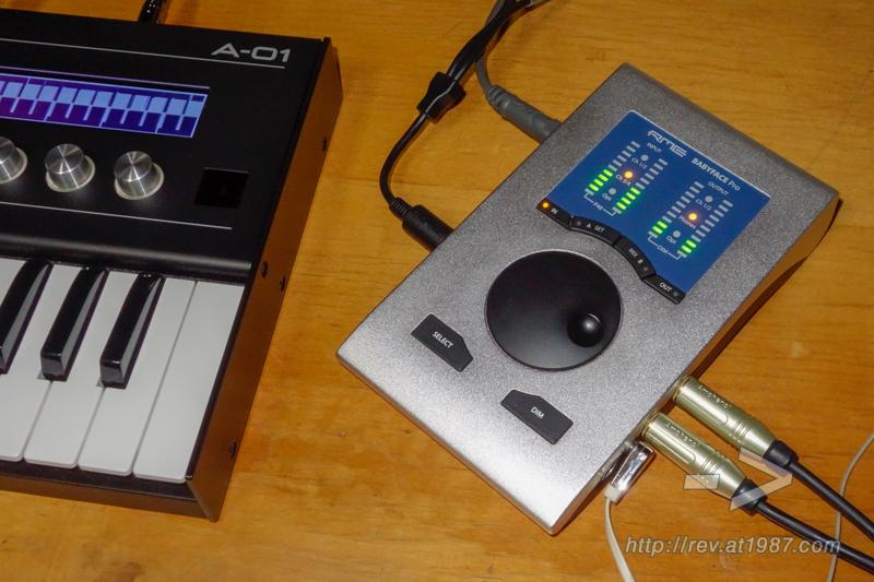 RME Babyface Pro with Roland A-01
