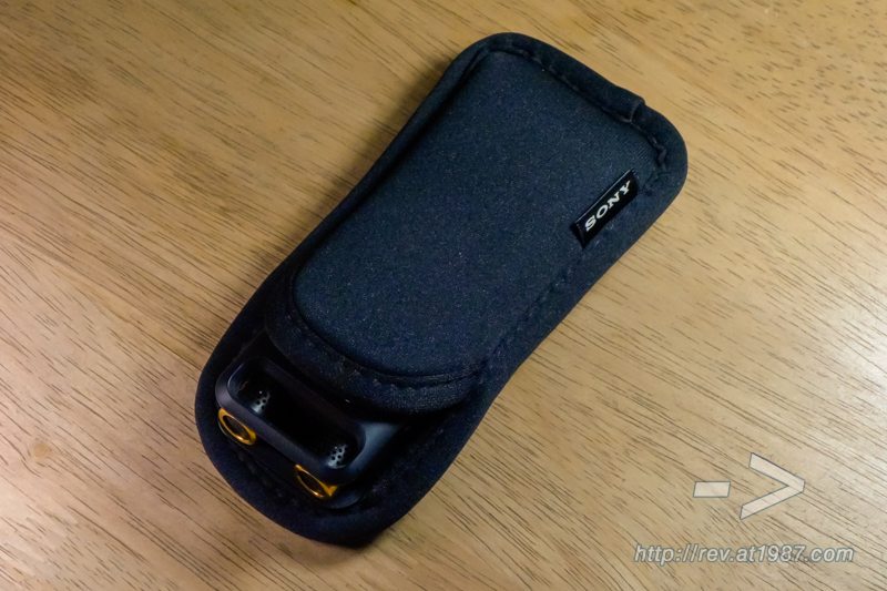Sony PCM-A10 with Carrying Case