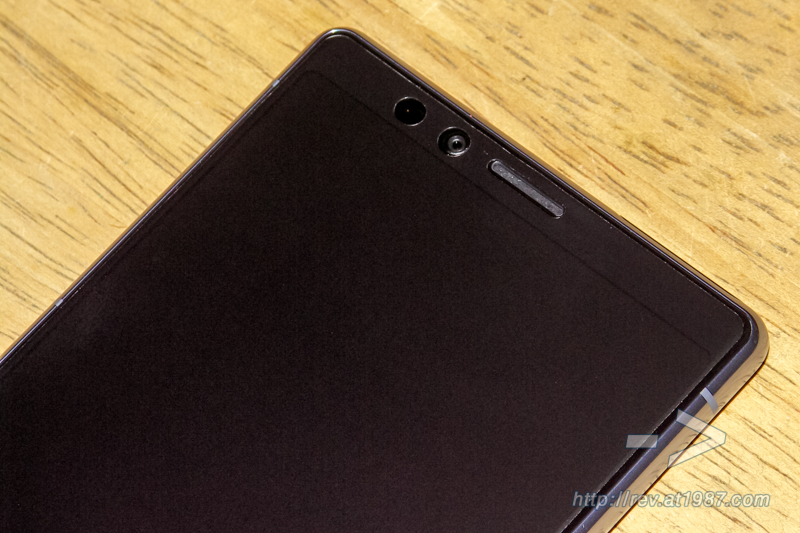 Sony Xperia 1 – Front Top