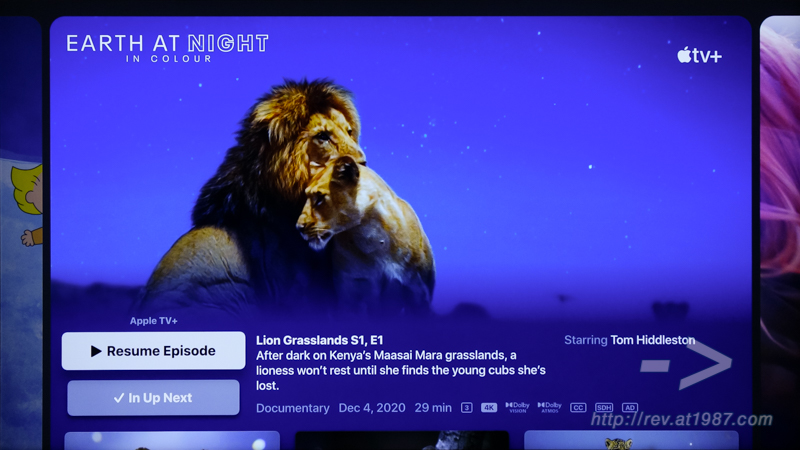 Sony BRAVIA KD-43X8000H – Apple TV Episodes
