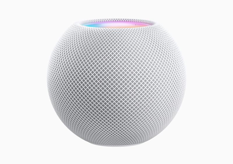 Apple HomePod mini in whie
